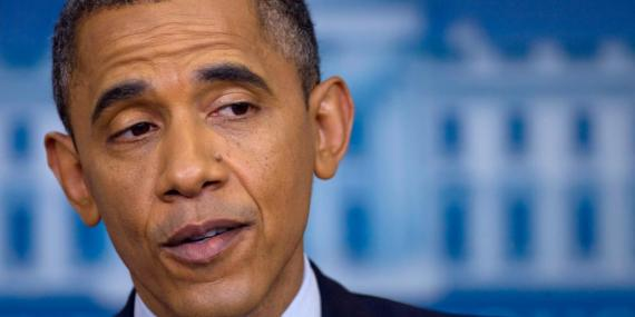 El presidente Barack Obama en 2012.