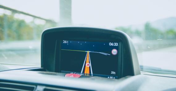 GPS, mapa