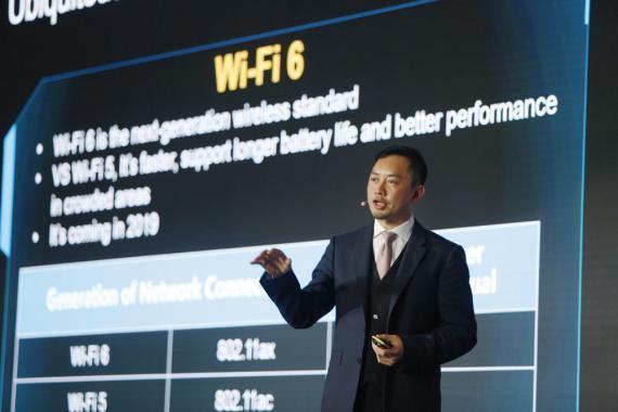 Qiu Heng, presidente global de Marketing de Huawei