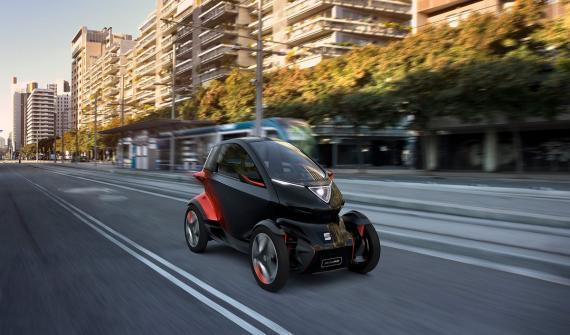 SEAT Minimó, el coche eléctrico biplaza de SEAT conexión 5G
