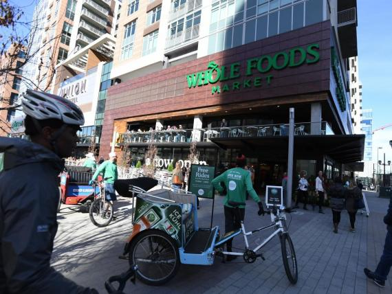 Whole Foods is expanding rapidly into delivery and pickup.