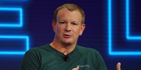 El cofundador de WhatsApp Brian Acton.