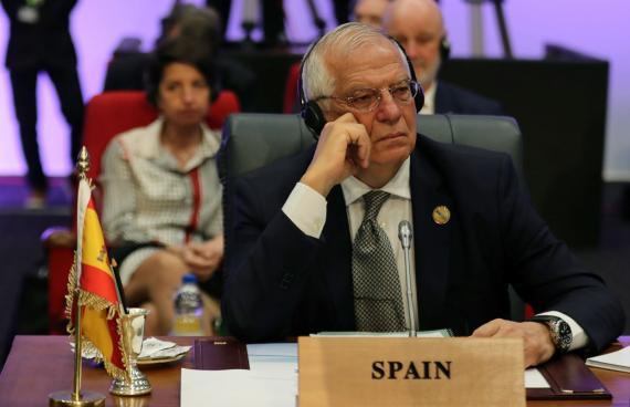Josep Borrell, ministro de Exteriores.