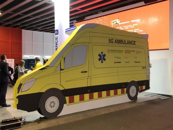 Una ambulancia 5G.