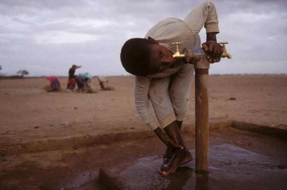 Las ciudades africanas se están quedando sin agua.