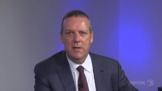 John Visentin, CEO de Xerox.