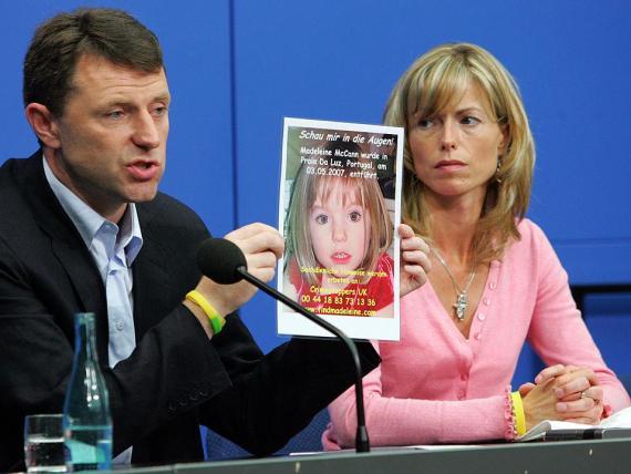 Gerry McCann y Kate McCann todavía buscan a su hija.