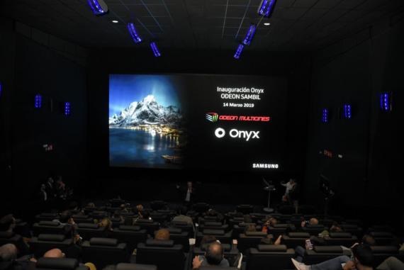 Cine Onyx Samsung