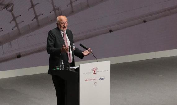 Juan Roig en el Congreso IEF 2018.