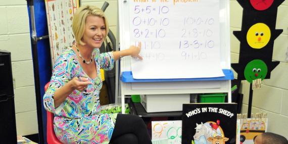 [RE] Kindergarten teacher Deanna Jump reached millionaire status by selling lesson plans online.