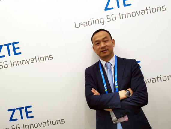 Kun Hu, presidente de Europa Occidental de ZTE