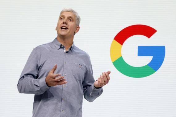 Rick Osterloh, Vicepresidente Senior de Hardware en Google