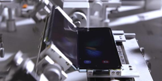 Samsung says the Galaxy Fold is 'durable' for up to 200,000 folds, but it looks like creasing is going to be inevitable