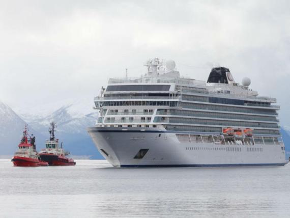 El crucero Viking Sky.