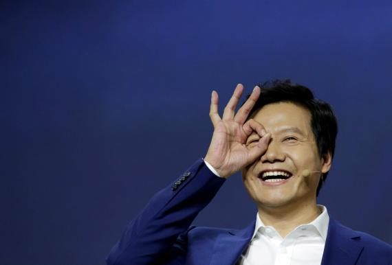 El CEO y fundador de Xiaomi, Lei Jun.