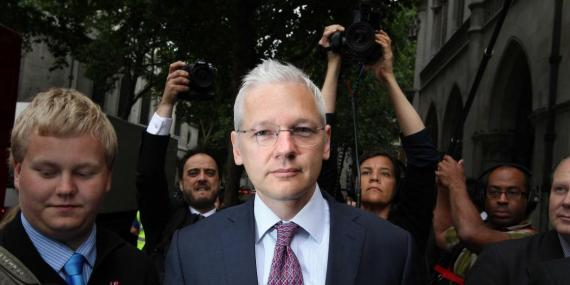 Ecuadorian officials deny WikiLeaks' claim that Julian Assange is about to be kicked out its embassy in London
