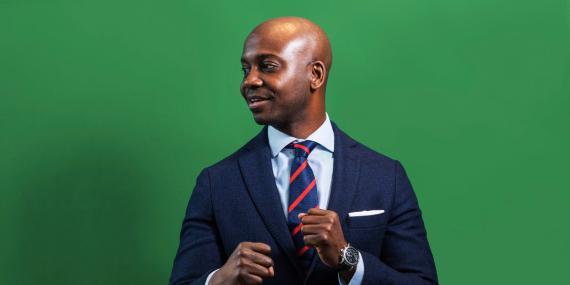 Emmanuel Aidoo, director de mercados de activos digitales de Credit Suisse.