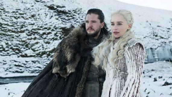 GOT: Jon y Daenerys