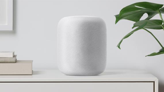 El altavoz inteligente de Apple Homepod.