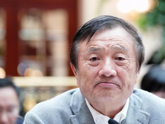 Ren Zhengfei, CEO de Huawei..