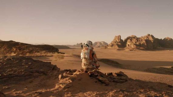 Fotograma de The Martian.