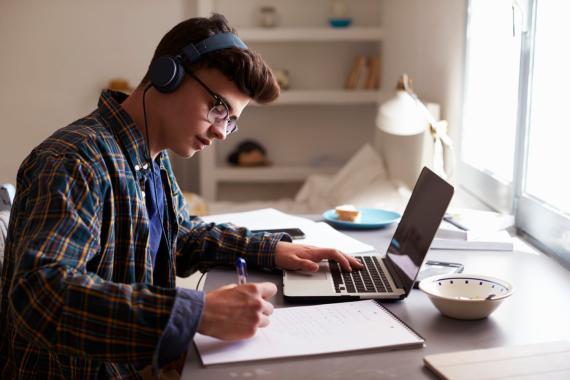 Música estudiando o trabajando
