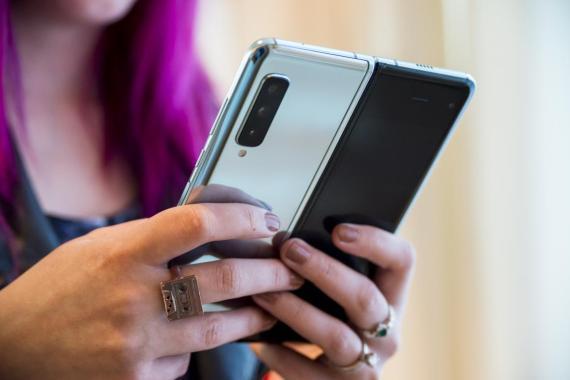 El Galaxy Fold de Samsung.