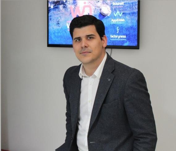 Samuel Sánchez, CEO de Winecta