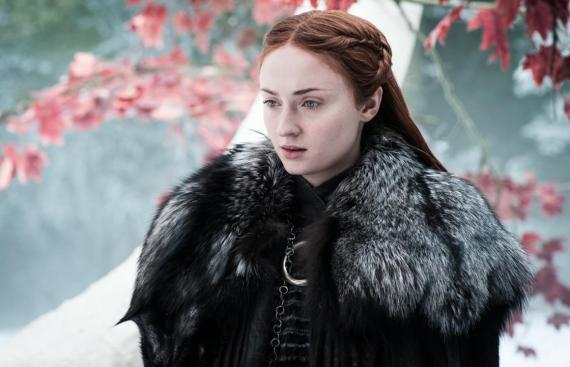 Sophie Turner es Sansa Stark en 'Juego de tronos'