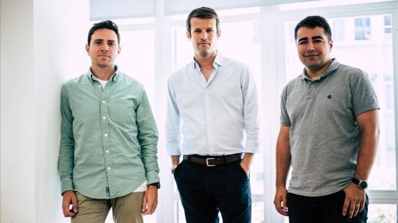 Callejón, Rodés y Morcillo, socios fundadores de Spaceboost.