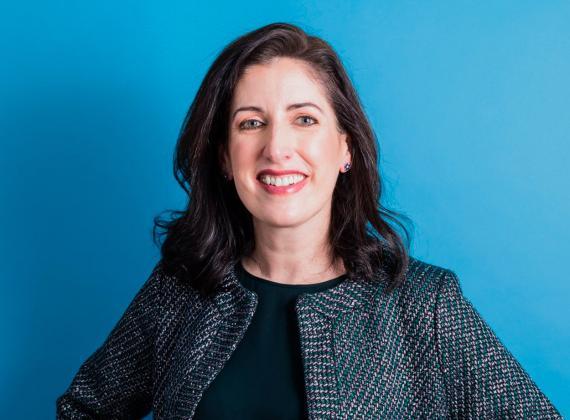 Tara Walpert Levy, vicepresidenta de soluciones de agencia para Google y YouTube.