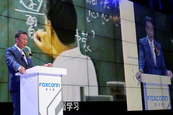 Terry Gou, presidente de Foxconn