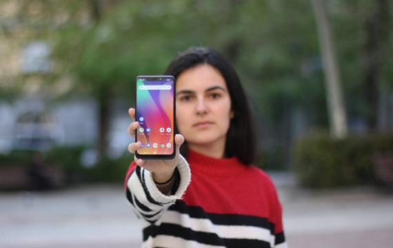 El nuevo móvil de mayor gama de VSmart, la marca que acaba de comprar a BQ: el Active 1+.