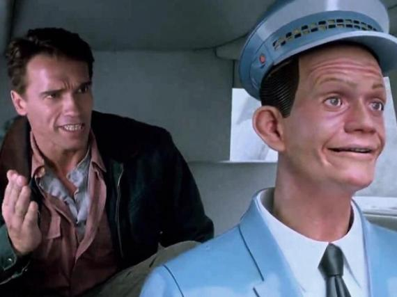 """The 1990 film """"Total Recall"""" may have predicted the rise of self-driving cars."""