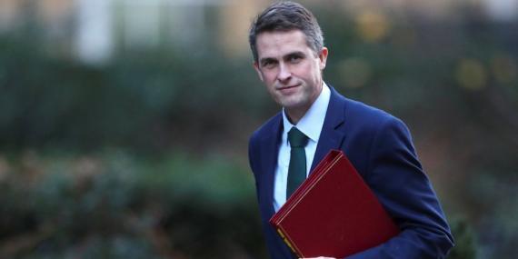El ahora diputado británico Gavin Williamson.