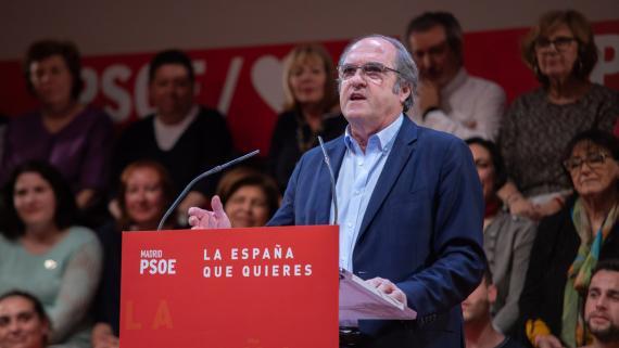 Ángel Gabilondo, candidato del PSOE a la Comunidad de Madrid.