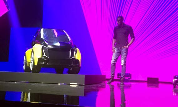 B-Nano, el coche eléctrico que acaba de lanzar Usain Bolt