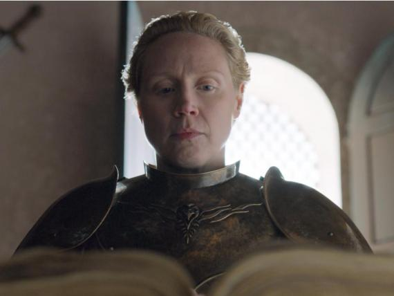 Brienne de Tarth escribe sobre Jaime Lannister en el Libro Blanco de los guardianes