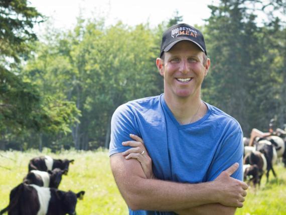 El CEO de Beyond Meat, Ethan Brown.