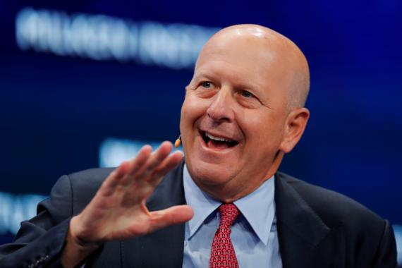El CEO de Goldman Sachs, David Solomon
