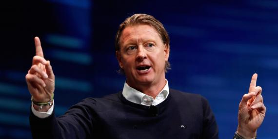 El CEO de Verizon, Hans Vestberg.