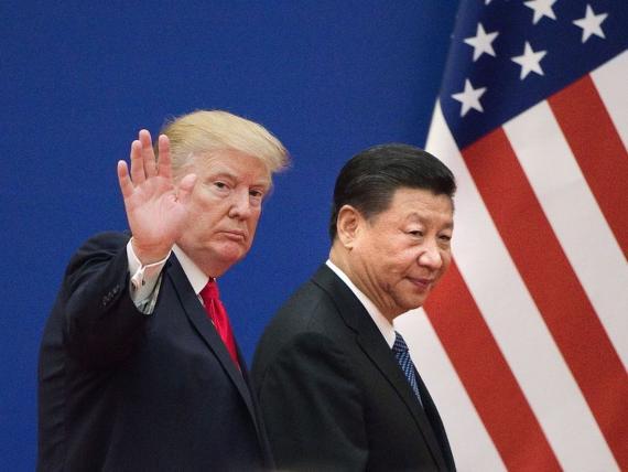El presidente de EE.UU., Donalt Xi Jinping.d Trump y el presidente chino Xi Jinping.