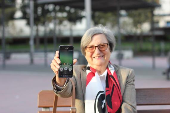 El Doro 8035 es un móvil sueco específico para personas mayores.