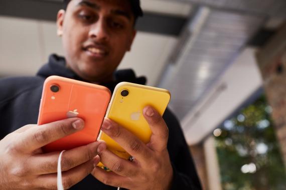 Eligiendo entre dos iPhone XR