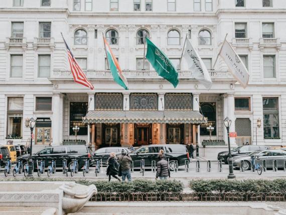El hotel plaza es icónico