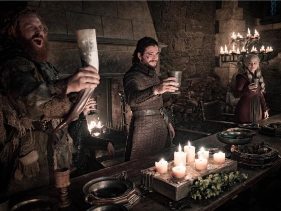 Imagen de la octava temporada de Juego de Tronos.