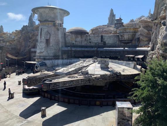 INSIDER obtuvo una vista previa de la nueva tierra de Disneylandia, Star Wars: Galaxy's Edge.