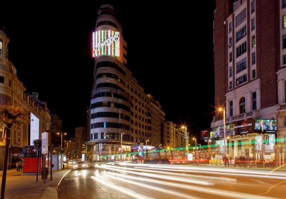 Madrid Gran Vía Luces