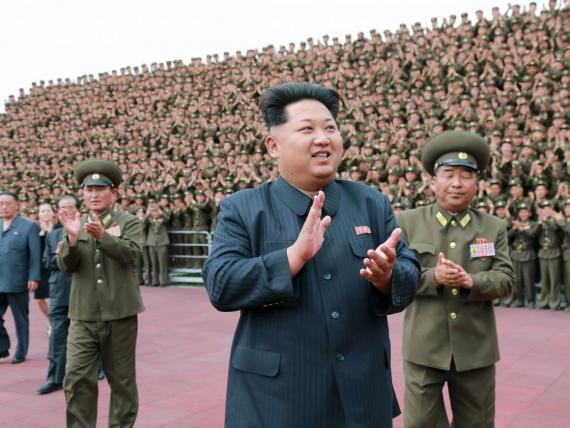 El líder norcoreano Kim Jong Un