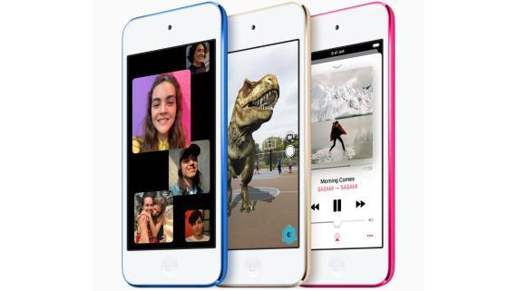 El nuevo iPod touch de Apple.